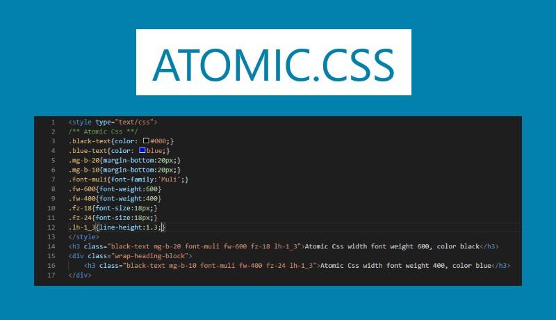 Atomic Css Và Tương Lai Nào Cho Css?