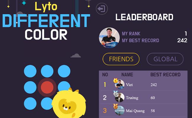 Hướng Dẫn Viết Auto Game Lyto Different Color
