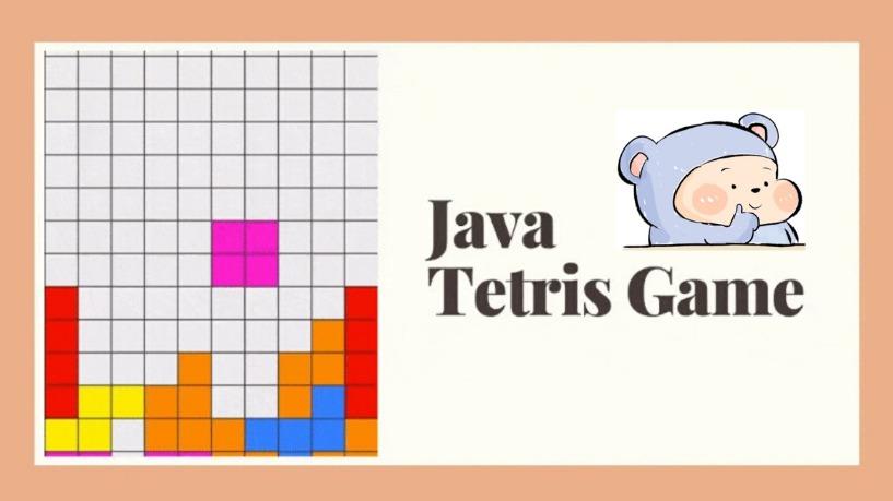 Hoài Cổ Với Game Tetris Lập Tình Bằng Java