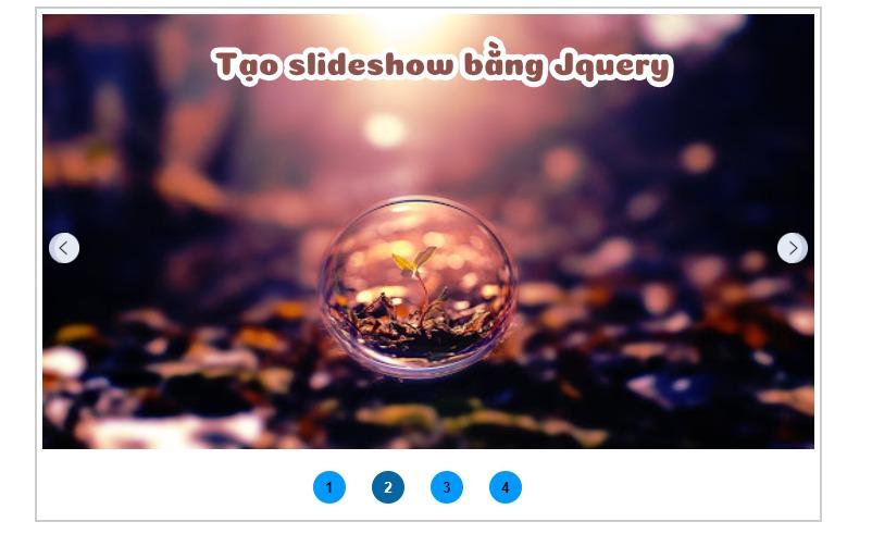 Tạo Slideshow Siêu Đơn Giản Với jQuery