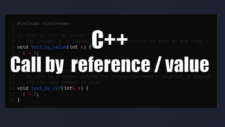 Truyền Tham Chiếu Và Truyền Tham Trị Trong C++ Là Gì