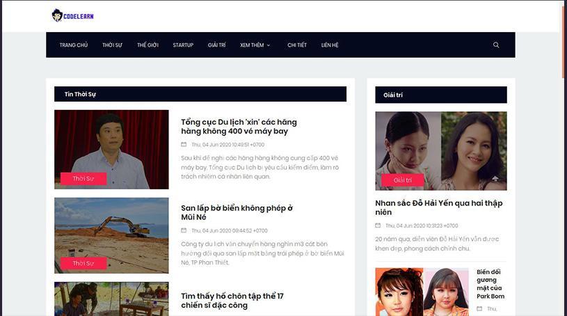 Tự Tạo Web Tin Tức Bằng PHP ( Phần 3)